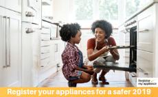 Register all your appliances for safer 2019 4