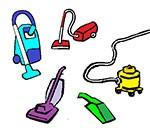 Vacuuming labels